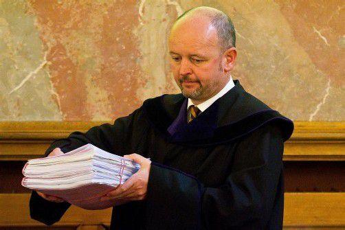 Vier Monate nach Prozessende legte der Senatsvorsitzende Andreas Posch das schriftliche Urteil vor. foto: vn