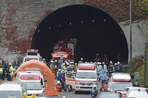 Wegen Einsturzgefahr wurde der Tunnel immer wieder gesperrt. Foto: RTS