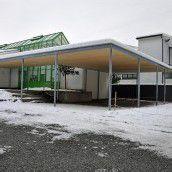 Schulhof der Mittelschule fertiggestellt