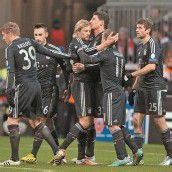 FC Bayern marschiert