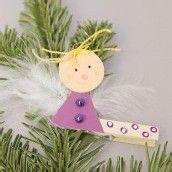 Bastelspass im Advent. Teil 9: Ein Engel als Christbaumschmuck