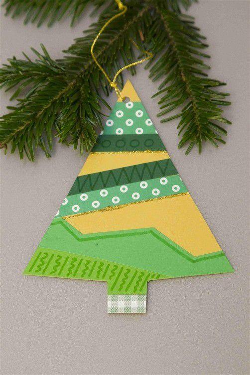 . . . fertig ist der Tannenbaum als Christbaumschmuck.