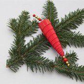 Bastelspass im Advent. Teil 14: Ein ganz besonderer Tannenzapfen für den Christbaum