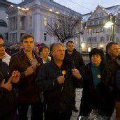 Protest gegen Stillstand bei KV-Verhandlungen im Handel