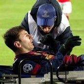 Messi mit Knieverletzung ausgeschieden