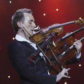 Weltrekord mit vier Geigen