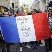 Großdemo für Homo-Ehe in Paris