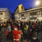 Weihnachtsmarkt in der Oberstadt