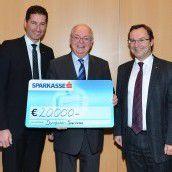 Dornbirner Sparkasse spendet 20.000 Euro