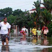 Überschwemmungen in Malaysia