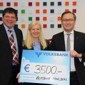 Volksbank: Spende statt Geschenke