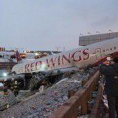 Fünf Tote bei Flugzeugunglück in Moskau