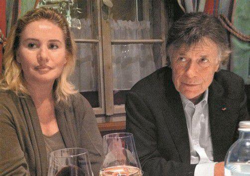 ÖSV-Präsident Peter Schröcksnadel und VN-Chefredakteurin Verena Daum-Kuzmanovic. Foto: vn