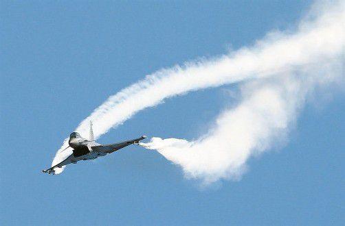 Österreich besitzt 15 Eurofighter, dafür bezahlte es dem Hersteller EADS 1,7 Milliarden Euro. Foto: Reuters