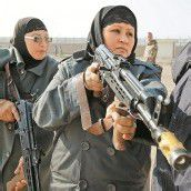 Militärischer Drill für afghanische Polizistinnen