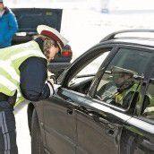 Polizei zog Dutzende Lenker aus dem Verkehr