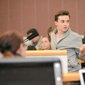 Im Landtag hatten Schüler das Sagen