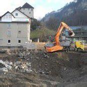 Montforthaus: Baugrube istausgehoben