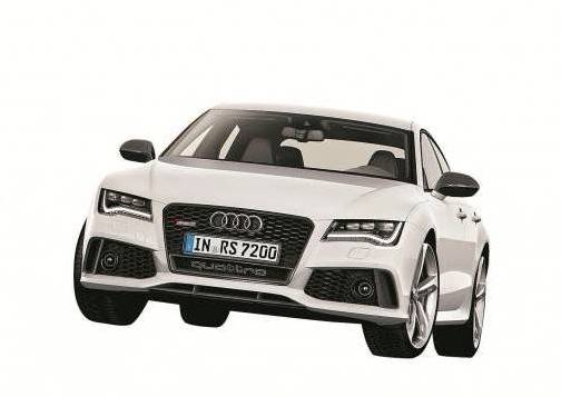 560 PS, 305 km/h Spitze und einen Verbrauch von unter 10 Litern. Der neue RS 7 von Audi  feierte in Detroit Weltpremiere.  Foto: Werk