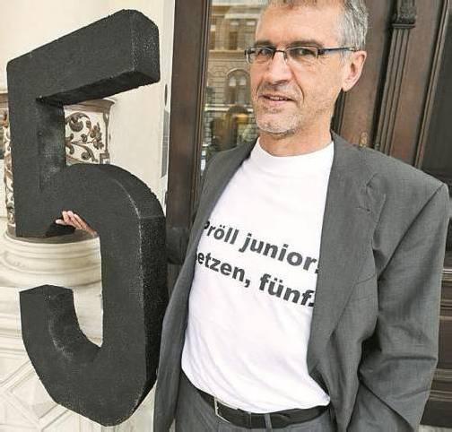 Aktionistisch: Grünen-Abgeordneter Harald Walser. Foto: APA
