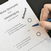 Volksbefragung ist ein unverbindliches Votum