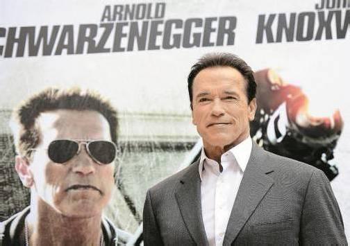 """Arnold Schwarzenegger ist zehn Jahre nach """"Terminator 3"""" in """"The Last Stand"""" wieder in einer Hauptrolle zu sehen. Foto: AP"""