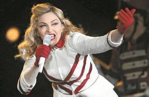 Auf der Liste der behandelten Musikerinnen und Bands ist auch Madonna. Foto: AP