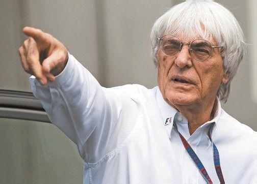 Bernie Ecclestone hofft, dass die Formel-1-WM im neuen Jahr eine neue Richtung nimmt. Foto: reuters