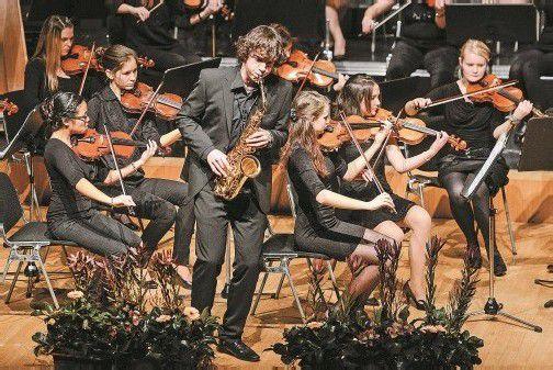 Das Saxophon erhielt beim Neujahrskonzert des Jugendsinfonieorchesters Mittleres Rheintal einen besonderen Stellenwert. Foto: Stiplovsek