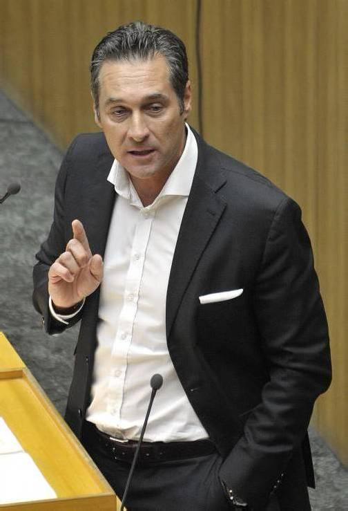 """Der FPÖ-Obmann: """"Volksbegehren müssen verbindlich zu einer Volksabstimmung führen. Foto: AP"""