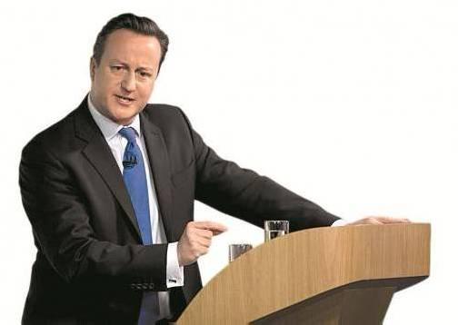"""Der britische Premier David Cameron fordert ein Referendum zum EU-Verbleib: Ein """"gefährliches Glücksspiel"""", so Kritiker. Foto: DAPD"""