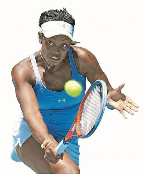 Die 19-jährige Sloane Stephens zog mit einem Erfolg über die fünfmalige Australian-Open-Siegerin Serena Williams ins Halbfinale ein. Foto: AP