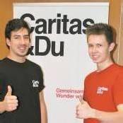 Sich engagieren bei der Caritas