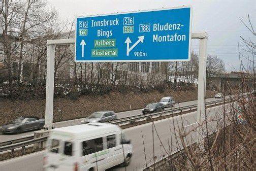 Die Diskussion über die Verkehrsthematik Bludenz-Montafon-Klostertal ist angesichts des Winterverkehrs wieder voll entbrannt. Foto: mez