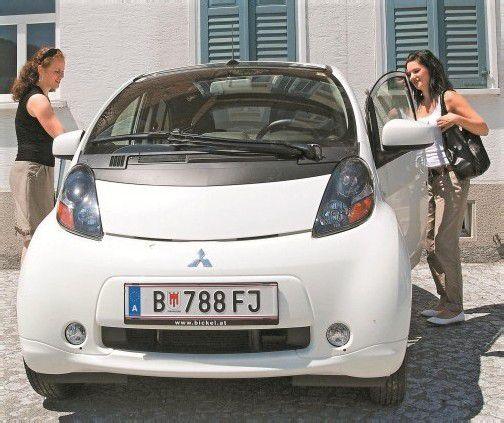 Die Firma Telesis in Alberschwende nutzt für ihr Carsharing-Auto die Systeme von Caruso. Foto: CAruso Carsharing