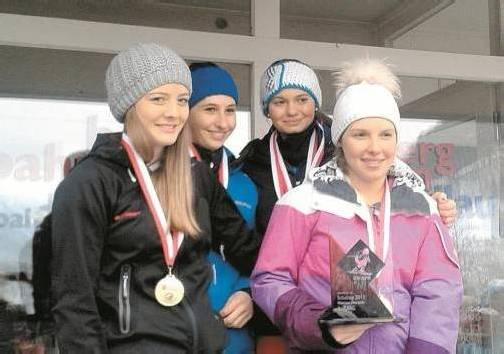 Die Mädchen der Oberstufe des Sportgymnasiums Dornbirn qualifizierten sich für die Bundesmeisterschaften. Foto: privat