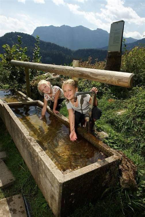Die Wasserversorgung ist in Vorarlberg in guten Händen. berchtold