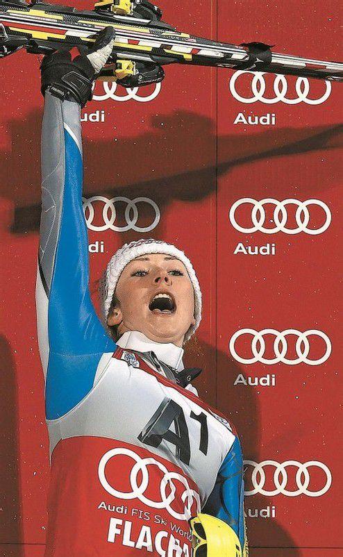 Drei Slalomsiege in einer Saison – Mikaela Shiffrin gelang 30 Jahre nach ihrer US-Landsfrau Tamara McKinney dieses Kunststück. Foto: reuters