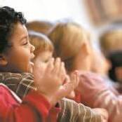 Singenden Kindern geht es besser