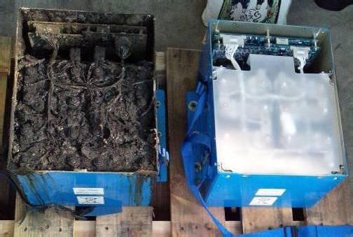 Ermittler fanden Hinweise auf Kurzschlüsse und Überhitzung der Batterie. Unklar sei, ob die Schäden Ursache oder Folge des Brandes sind. Foto: dapd
