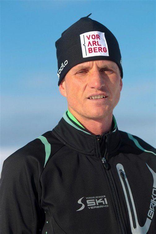 Franz Bachlinger treibt die VSV-Langläufer voran. Foto: hartinger