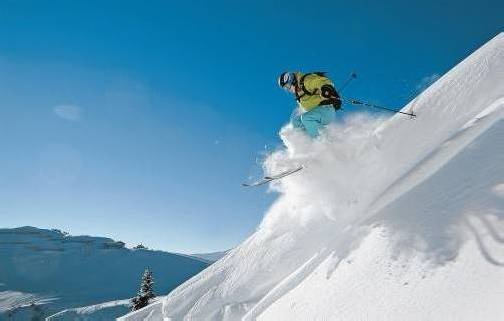 Für Wintersportbegeisterte wartet das Wochenende mit traumhaften Bedingungen auf. Foto: L. Berchtold