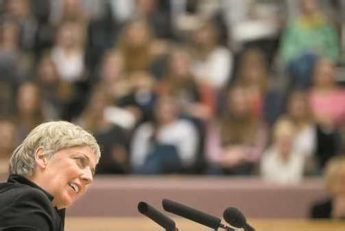 """Grünen-Bildungssprecherin Wiesflecker: """"Was soll denn noch beforscht werden?"""" Foto: vn/steurer"""