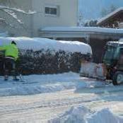 Schneeräumung: Dank und kleine Anregungen