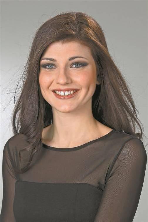Die neue Miss Vorarlberg 2013: Angelika Albrecht aus Lustenau.