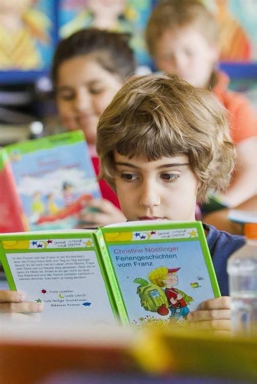 Immer mehr Mädchen und Buben geben im Internet ihren Lieblingsbüchern ihre Stimme. Foto: VN/Steurer