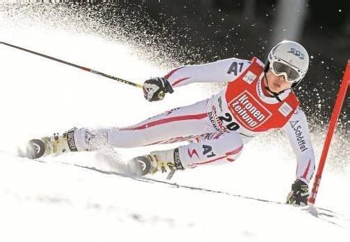 Marcel Mathis hofft nach seiner Nominierung für die Weltmeisterschaften in Schladming auf einen Einsatz im Riesentorlauf oder im Teambewerb. Foto: apa