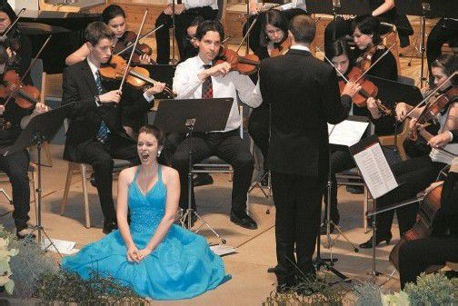 Montafonerin Iris Mangeng gab auch eine Schauspiel-Talentprobe. Foto: Hronek