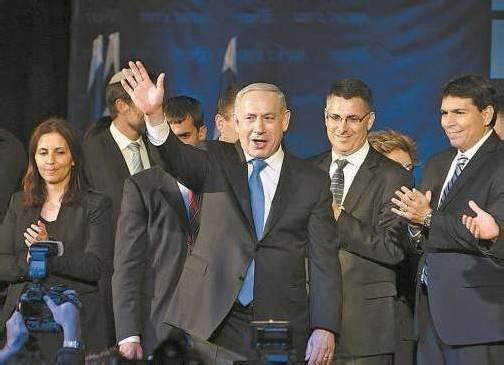Netanjahu hofft, eine breite Koalition bilden und weiterhin Premier in Israel bleiben zu können. Foto: reuters