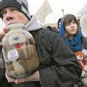 Proteste gegen Adoptionsverbot in Moskau